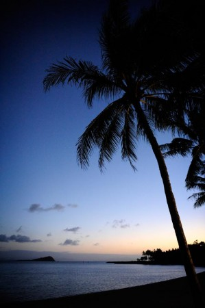 Outdoor Wedding Photography - Sunset at Hayman Island, Whitsundays